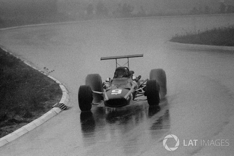 10. Jacky Ickx, Ferrari, GP da Alemanha de 1968: 23a 07m 03d