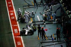 Felipe Massa, Williams FW40 sort des stands