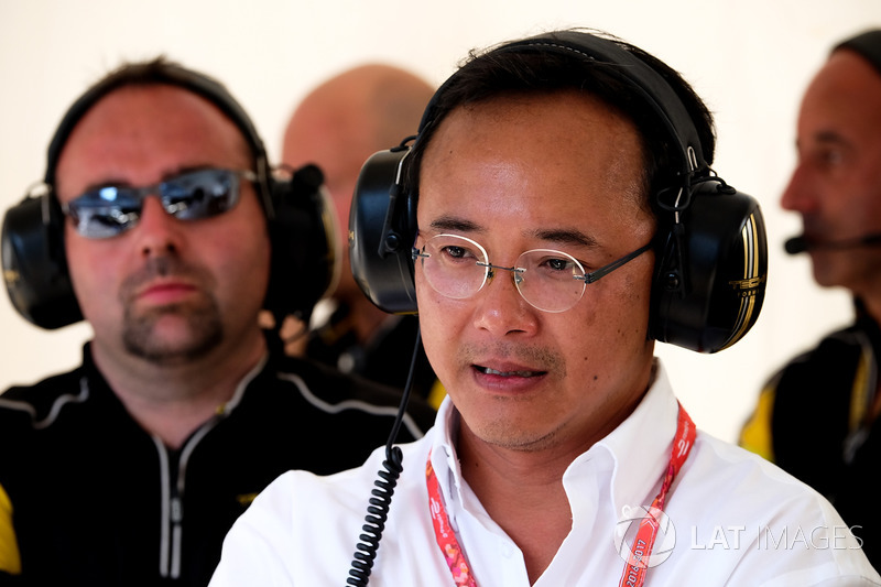 Ivan Yim, Managing Director Techeetah Racing