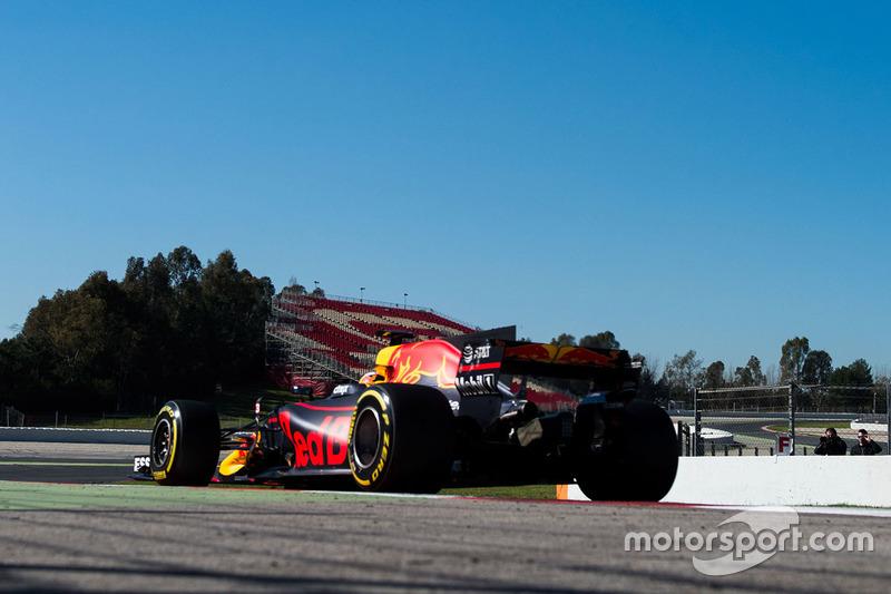 Mercredi : Daniel Ricciardo, Red Bull