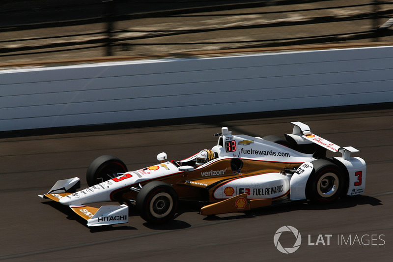 2. Helio Castroneves, Team Penske, Chevrolet