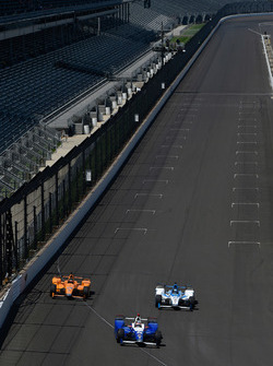 Takuma Sato, Andretti Autosport Honda, Fernando Alonso, Andretti Autosport Honda, Marco Andretti, Andretti Autosport Honda