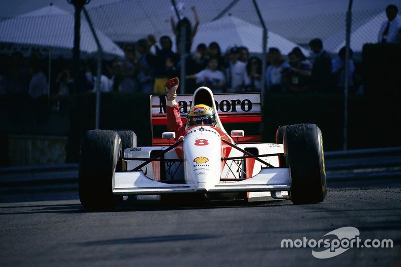1993 - Ayrton Senna, McLaren