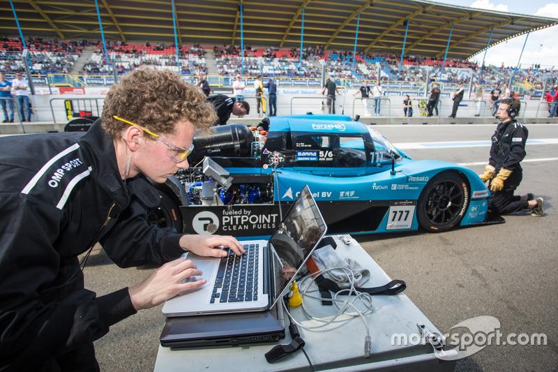 Forze Hydrogen Racing Team Delft, Forze VII, tijdens Gamma Racing Day 2017