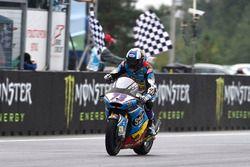 Second place Alex Marquez, Marc VDS