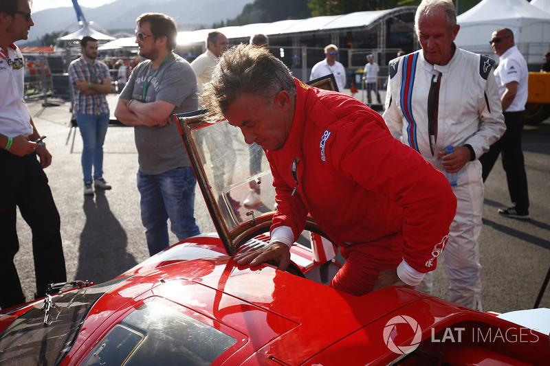 Спортивный консультант Red Bull Хельмут Марко, Жан Алези, Ferrari 512S 1969 года