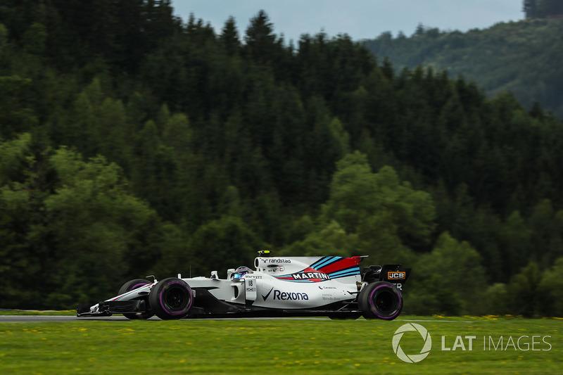 10. Lance Stroll, Williams FW40