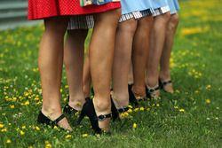 Schoenen van de gridgirls
