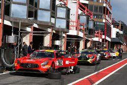 #90 Akka ASP Mercedes AMG GT3: Edoardo Mortara, Michael Meadows, Raffaele Marciello