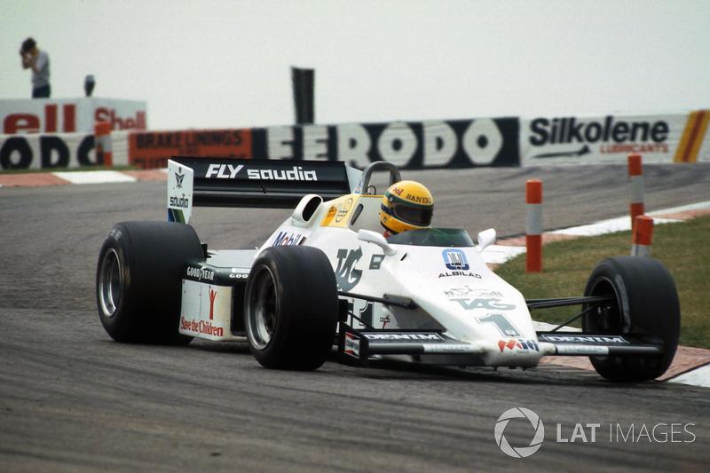 Ayrton Senna, prova la Williams FW08C per la prima volta