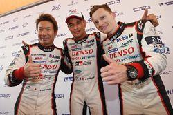 Kamui Kobayashi, Stéphane Sarrazin, Mike Conway, Toyota Gazoo Racing