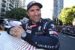 Winner Stéphane Peterhansel, Peugeot Sport