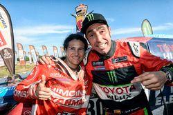 Nani Roma, Overdrive Racing Toyota, Rosa Romero, Himoinsa Racing