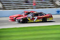 Ross Chastain, JD Motorsports Chevrolet, Justin Allgaier, JR Motorsports Chevrolet
