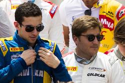 Nicholas Latifi y Stefano Coletti, Campos Racing