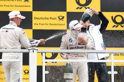 Podium: Maxime Martin, BMW Team RBM, BMW M4 DTM, Bruno Spengler, BMW Team RBM, BMW M4 DTM, Bart Mamp