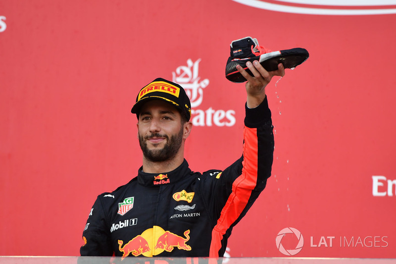 Ricciardo vive fase iluminada em 2017. Do GP da Espanha para cá, o australiano foi a todos os pódios e é o piloto que mais pontuou, inclusive superando Sebastian Vettel e Lewis Hamilton, postulantes ao título.