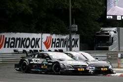 Robert Wickens, Mercedes-AMG Team HWA, Mercedes-AMG C63 DTM, Bruno Spengler, BMW Team RBM, BMW M4 DT