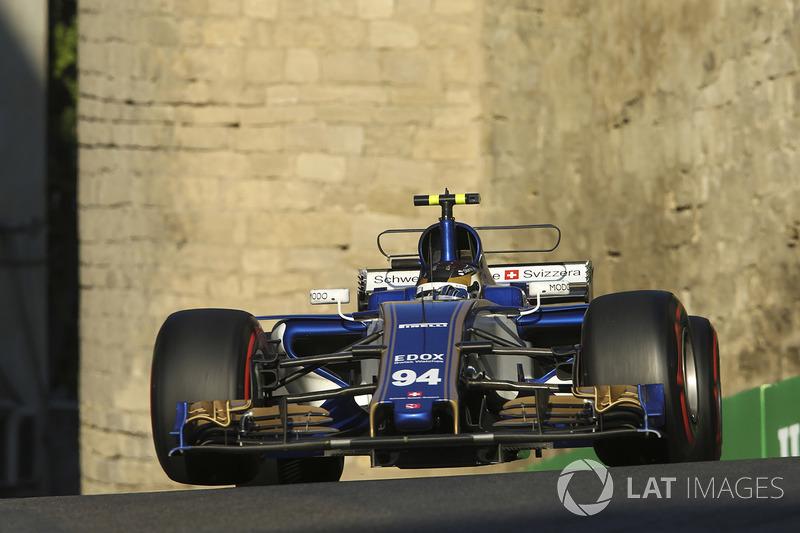 Wehrlein teve momentos de altos e baixos. Conseguiu pontuar por duas vezes, na Espanha e no Azerbaijão, mas viveu episódios como o susto de Mônaco, quando foi tocado por Jenson Button.