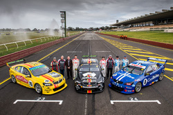 Todd Hazelwood, Tim Blanchard, Brad Jones Racing Holden, Nick Percat, Macauley Jones, Brad Jones Rac