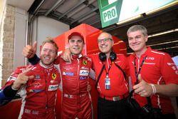 GTE-Pro-Polesitter: Davide Rigon, Sam Bird, AF Corse
