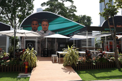 Mercedes AMG F1 team building