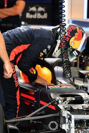 Daniel Ricciardo, Red Bull Racing RB13 avec le Halo