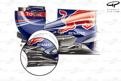 Echappement de la Red Bull RB7