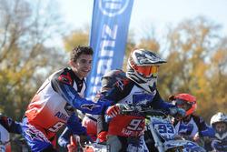 Marc Marquez con i partecipanti