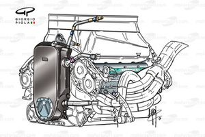 Sauber C20 2001 engine