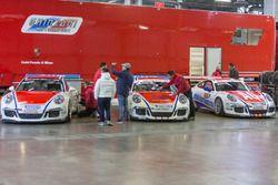 Porsche 911 GT3 Cup von Carlo Scanzi, Simone Iaquinta, Glauco Solieri