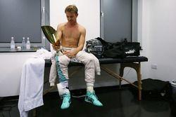 Nico Rosberg, Mercedes AMG F1 celebra su campeonato del mundo