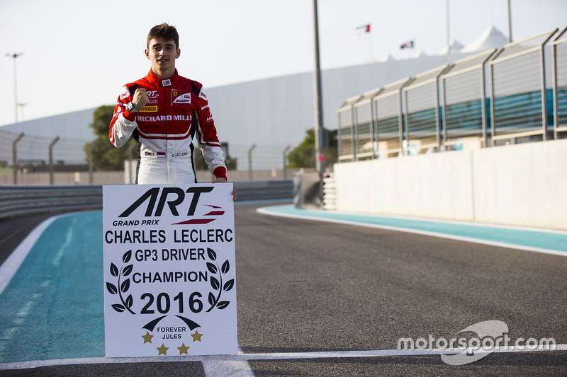 Champion 2016 : Charles Leclerc
