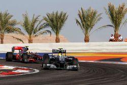 Nico Rosberg, Mercedes AMG F1 ile ilk Start - Bahreyn 2010
