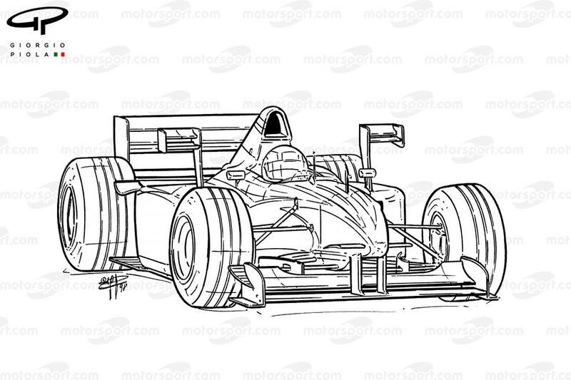 X-Wings del Tyrrell 026 1998