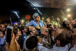 Nico Rosberg, Mercedes AMG F1 celebrates his World Championship title