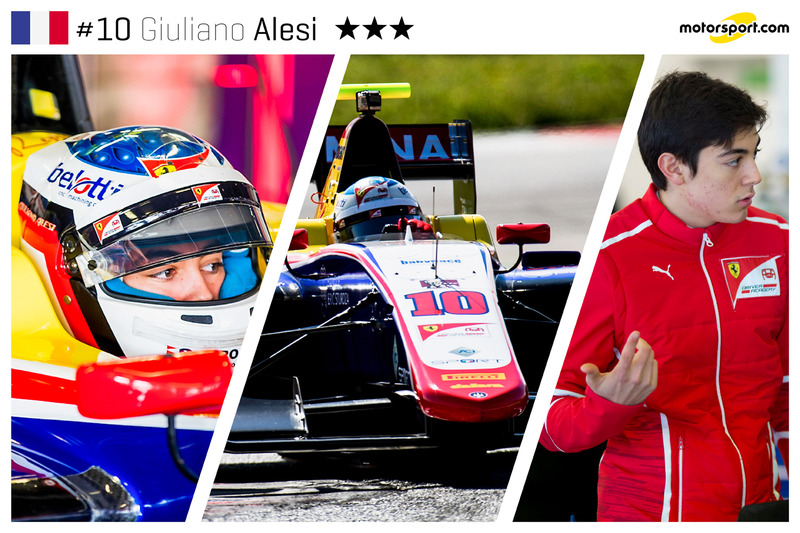 Giuliano Alesi - 17 ans