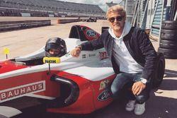 Marcus Ericsson con su hermano Hampus en la F3 británica