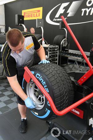 Pirelli-bandentent