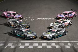 Die Mercedes-Fahrzeuge in der DTM 2017