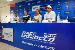 Yann Ehrlacher, RC Motorsport, Lada Vesta , Thed Björk, Polestar Cyan Racing, Volvo S60 Polestar TC1