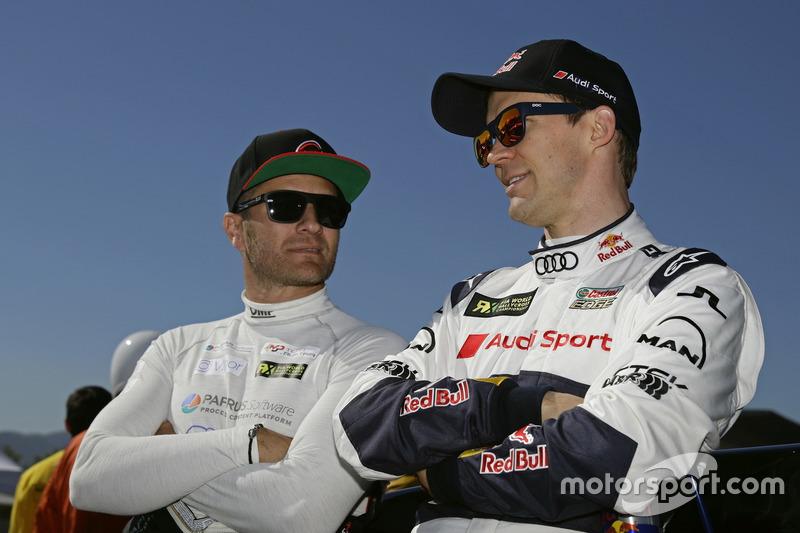 Timo Scheider, MJP Racing Team Austria, Ford Fiesta ST; Mattias Ekström, EKS, Audi S1 EKS RX Quattro