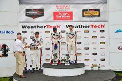 GTLM Podium: race winners Patrick Pilet, Dirk Werner, Porsche Team, second place Gianmaria Bruni, Laurens Vanthoor, Porsche Team