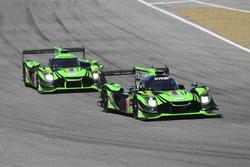 #2 Tequila Patrón ESM Nissan DPi: Scott Sharp, Ryan Dalziel, #22 Tequila Patron ESM Nissan DPi: Pipo