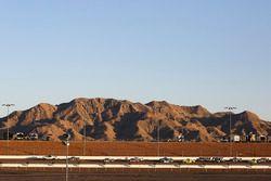 Toyota Tundra Pace Truck leads Chase Briscoe, Brad Keselowski Racing Ford