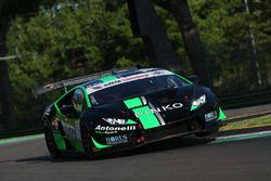 Lamborghini Huracan S.GTCup #104, Antonelli Motorsport: Desideri-Negra