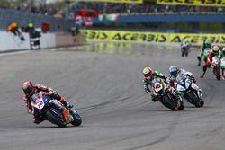 Michael van der Mark, Pata Yamaha, Alex de Angelis, Pedercini Racing, Raffaele de Rosa, Althea Racin