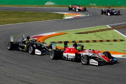 Mick Schumacher, Prema Powerteam, Dallara F317 - Mercedes-Benz, Lando Norris, Carlin Dallara F317 -
