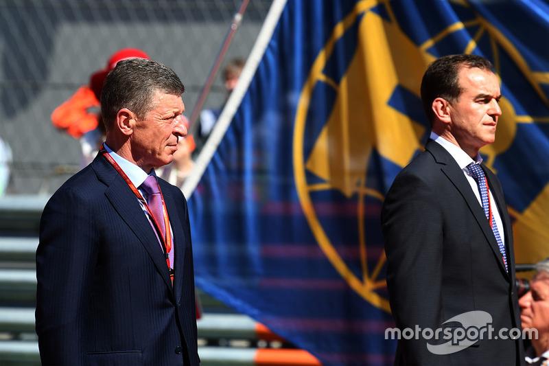 Dmitry Kozak, Deputy Prime Minister of the Russian Federation, Veniamin Kondrytyev, Governor of Kras