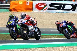 Валентино Росси, Yamaha Factory Racing, Андреа Довициозо, Ducati Team, Маверик Виньялес, Yamaha Fact